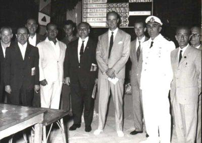 1950 - Torneo Scherma di Fioretto organizzato alla nedo nadi