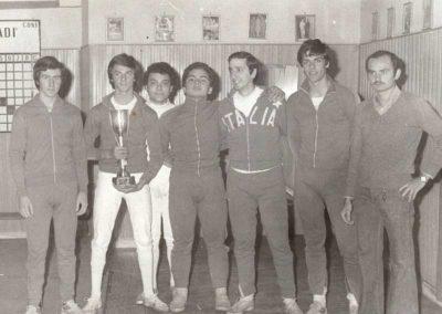 1977 - Antonio Pagano Campione-Italiano con Toran e compagni