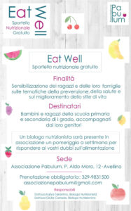 Locandina eat well
