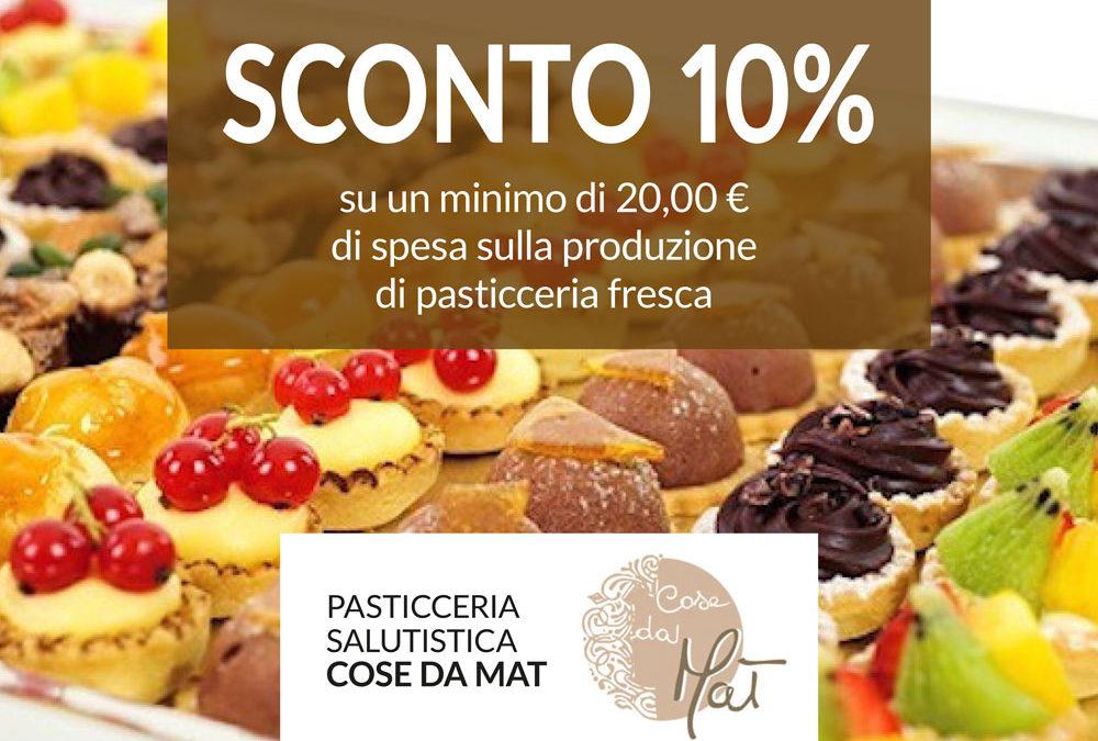 Pasticceria salutistica SCONTO 10%