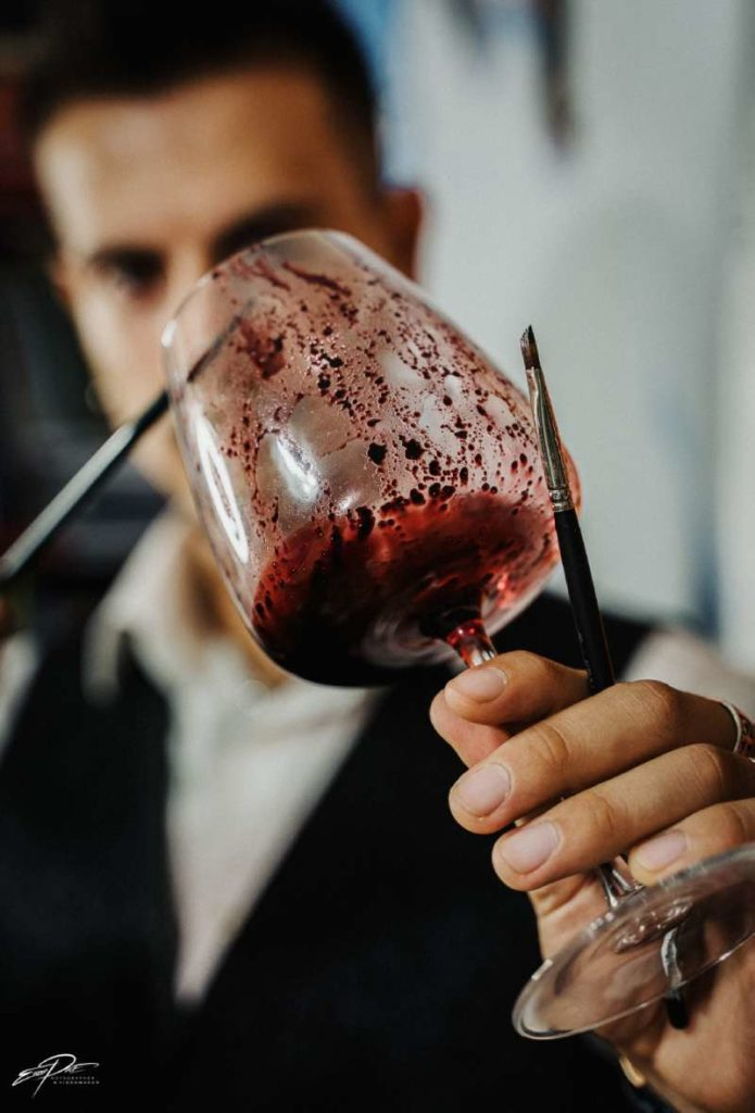 Davide Montuori Wine Artist