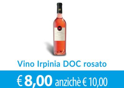 Vino Irpinia DOC Rosato vendemmia 2017 SCONTO 2,00 euro