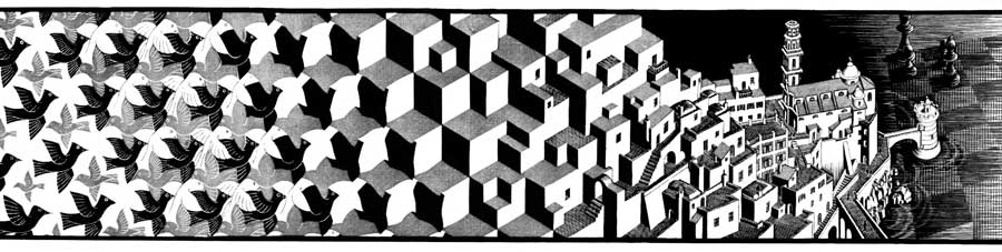 escher metamorphose