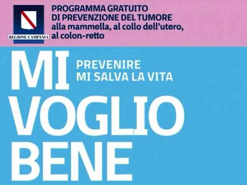 #MiVoglioBene: al via la campagna di screening gratuiti della Regione Campania