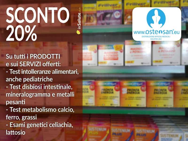 Su tutti i prodotti e servizi SCONTO 20%