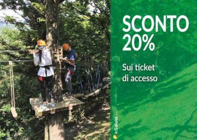 Ticket di accesso SCONTO 20%