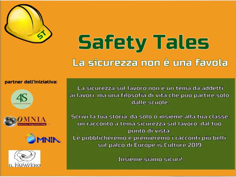 """La sicurezza non è una favola! Ai nastri di partenza il concorso per le scuole che premia le storie """"sicure"""""""