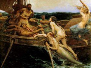 Ulisse e le Sirene, Herbert James Draper, 1909