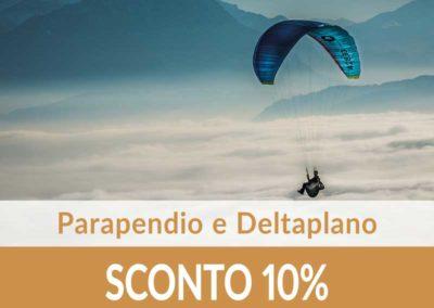 Parapendio e Deltaplano SCONTO10%