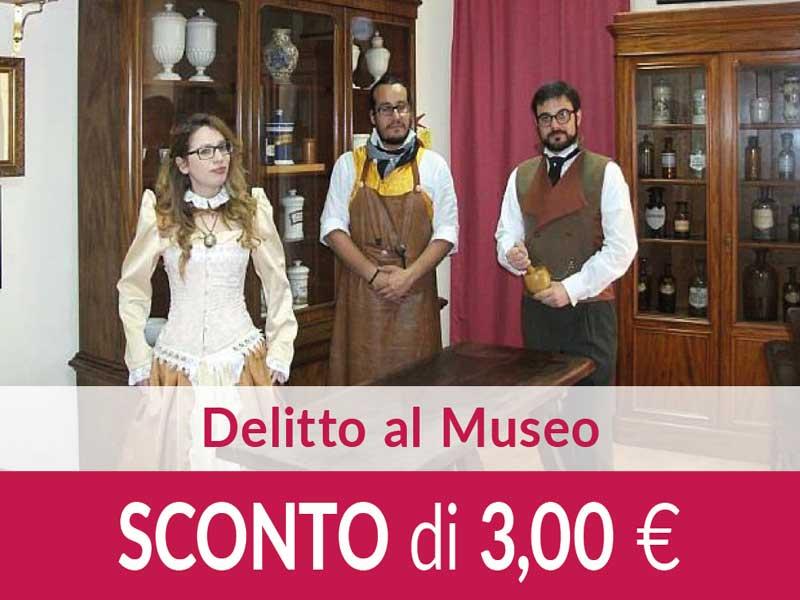 Delitto al Museo SCONTO 3,00 euro