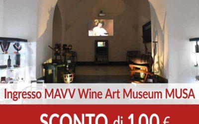 Ingresso Wine Art Museum SCONTO 1,00 euro
