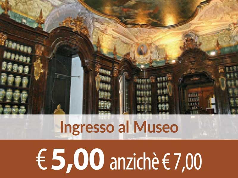 Ingresso al Museo delle Arti Sanitarie SCONTO 2,00 euro