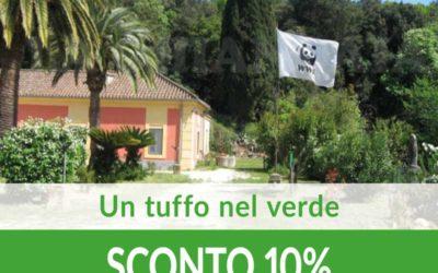 Un tuffo nel verde SCONTO 10%