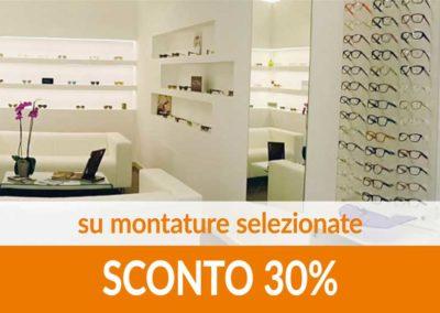 Montature selezionate SCONTO 30%