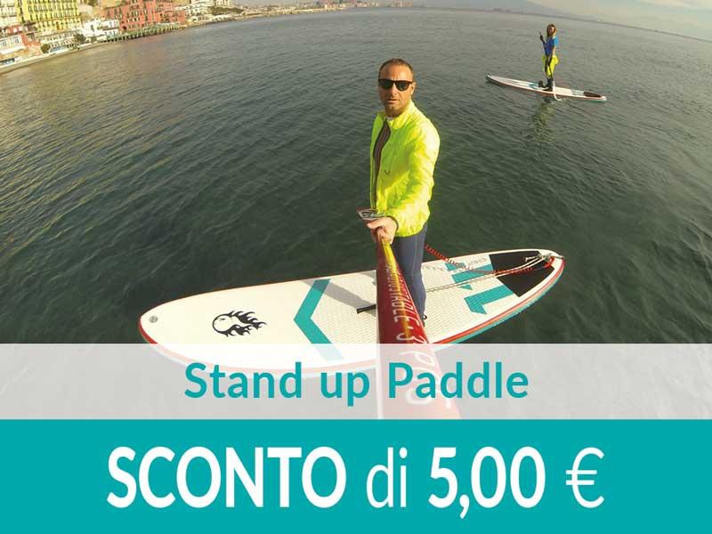 Lezione o Escursione Stand up Paddle SCONTO 5,00 euro