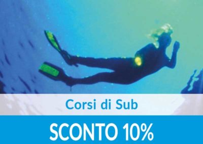 Corsi di Sub Diving Center SCONTO 10%
