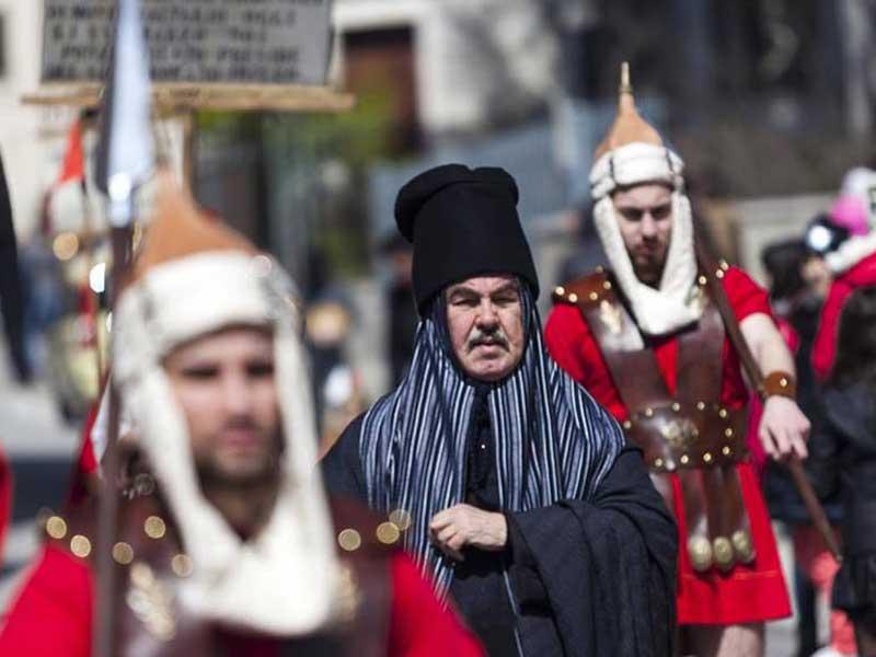 Il Venerdì Santo di Vallata. Rivive la tradizione secolare